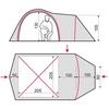 Палатка трехместная Terra Incognita Geos 3 камуфлированная - фото 2