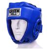 Шлем боксерский Green Hill Five Star (синий) - фото 1
