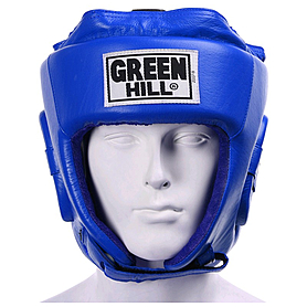 Фото 2 к товару Шлем боксерский Green Hill Five Star (синий)