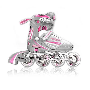 Коньки роликовые Спортивная коллекция Ultra Deluxe Pink