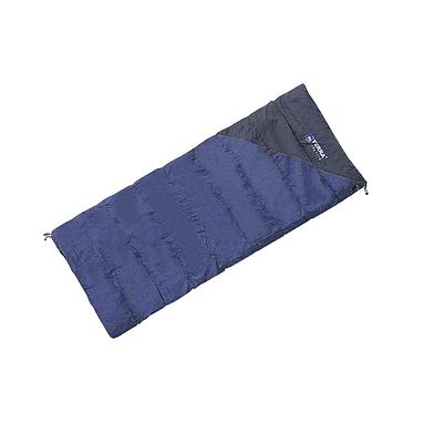 Спальный мешок (спальник) Terra Incognita Campo 300 синий-серый