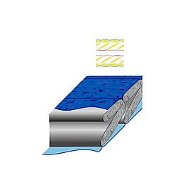 Фото 2 к товару Спальный мешок (спальник) Terra Incognita Termic 1500 левый синий-серый