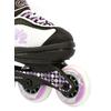 Коньки роликовые детские K2 Charm Pack 2013 черно-белые - р. 26-31 - фото 4