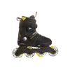 Коньки роликовые детские K2 SK8 Hero Pack 2013 черно-желтые - р. 29-34 - фото 2