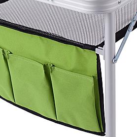 Фото 6 к товару Стол раскладной + 4 стула Кемпинг ТА-484 + 4 стула