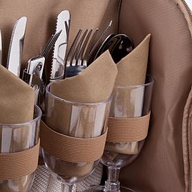 Фото 5 к товару Набор для пикника на 4 персоны Кемпинг СА-576