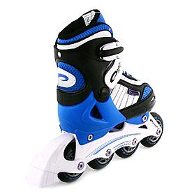 Фото 2 к товару Коньки роликовые/ледовые Pirouette Spokey синие