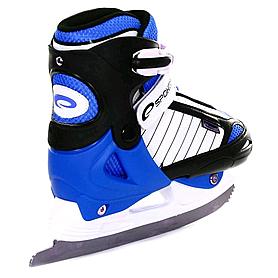 Фото 4 к товару Коньки роликовые/ледовые Pirouette Spokey синие
