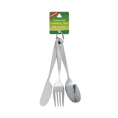 Набор столовых приборов на карабине Cutlery Set Coghlan's