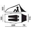 Палатка двухместная Hannah Rider - фото 3
