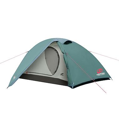 Палатка двухместная Hannah Serak Green