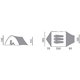 Фото 2 к товару Палатка трехместная Hannah Rover Mimicry