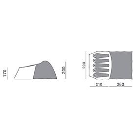 Фото 2 к товару Палатка пятиместная Hannah Spirit
