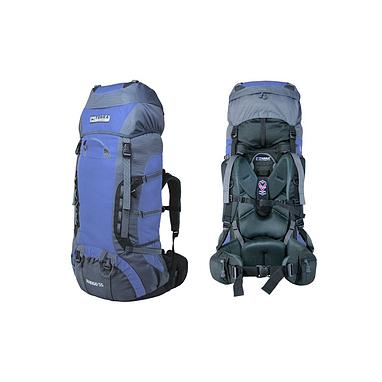 Рюкзак треккинговый Terra Incognita Rango 75 синий/серый