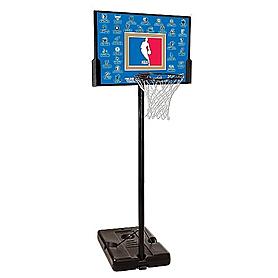 """Баскетбольная стойка Spalding (мобильная) NBA Teams 44"""" Rectangle Composite"""