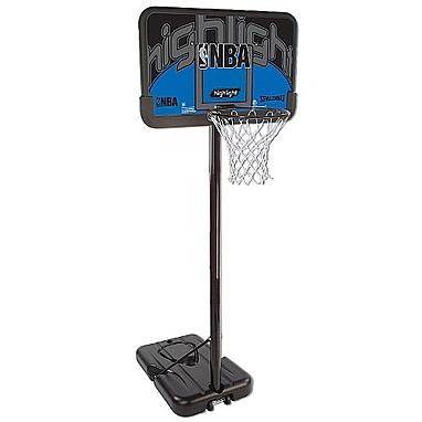 Баскетбольная стойка (мобильная) Spalding NBA Silver Highlight 44