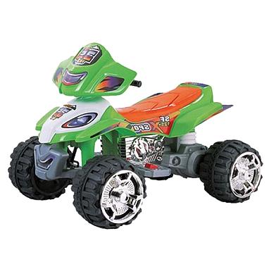 Квадроцикл электрический детский Profi Bambi зеленый