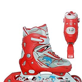 Фото 2 к товару Роликовые коньки детские Profi Roller A1005