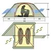 Палатка двухместная Rondo 2 Plus Alexika - фото 3