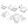 Палатка трехместная Zamok 3 Alexika - фото 4