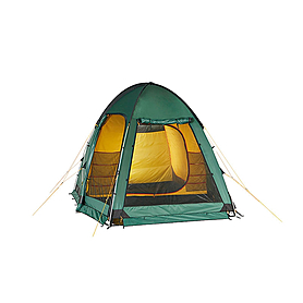 Фото 3 к товару Палатка трехместная Minesota 3 Luxe Alexika зеленая