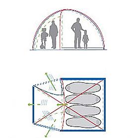 Фото 6 к товару Палатка четырехместная Minesota 4 Luxe Alexika зеленая