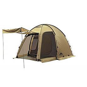 Фото 2 к товару Палатка четырехместная Minesota 4 Luxe Alexika бежевая