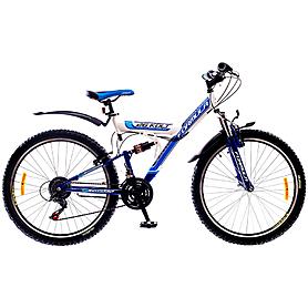 """Велосипед горный Formula Kolt 26"""" 2015 бело-синий рама - 18"""""""