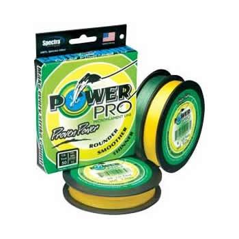 Шнур Power Pro желтый 135м 0,06мм 3кг желтый