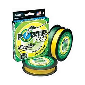 Шнур Power Pro желтый 135м 0,08мм 4кг желтый