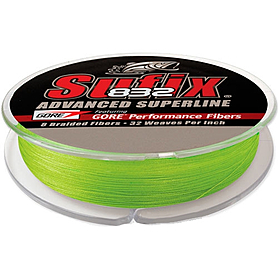 Шнур Sufix 832 120м 0,20мм 13,5кг Low-Vis Green