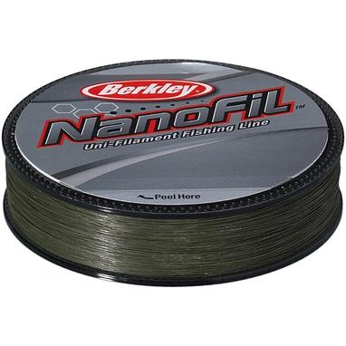 Шнур Berkley NanoFil 125м 0,12мм 6,934кг зелёный
