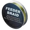 Шнур Sufix Feeder braid 100м 20lb 0,18мм 9,1кг Olive green - фото 1