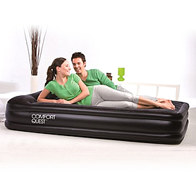 Кровать надувная со встроенным насосом Bestway 67430 (203х152х38 см)