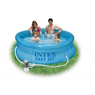 Бассейн семейный надувной 54910 Intex (244х76 см)