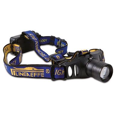 Фонарь налобный с линзой и фокусировкой луча 200 м Lineaeffe 3 Watt Cree LED