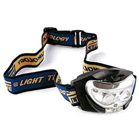Фонарь налобный с линзой Lineaeffe 2 LED (функция ночного видения)