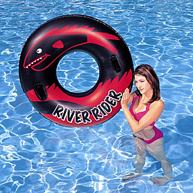 """Круг надувной с ручками """"River Rider"""" Bestway 36068 (102 см)"""