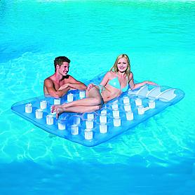 Фото 1 к товару Матрас надувной пляжный 2-местный Bestway 43055 (193х142 см)