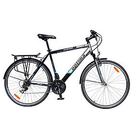 """Велосипед городской Optima Hunter 28"""" черно-серебристый"""