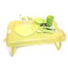 Набор посуды для пикника на 4 персоны + складной столик - фото 1