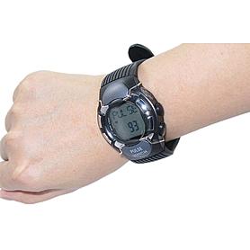 Фото 3 к товару Пульсотахограф - наручные часы профессиональный HRM-2518 черные