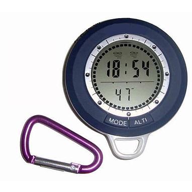 Термометр, компас, барометр, часы, календарь, метеостанция 8 в 1