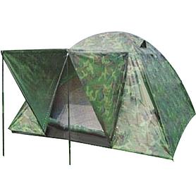 Палатка трехместная Mountain Outdoor (ZLT) 200х200х135 см двухслойная камуфляж