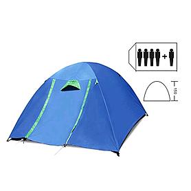 Палатка Mountain Outdoor (ZLT) 4+1 (220х250х150 см) двухслойная
