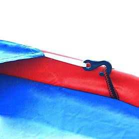 Фото 2 к товару Палатка трехместная Mountain Outdoor (ZLT) 200х200х135 см