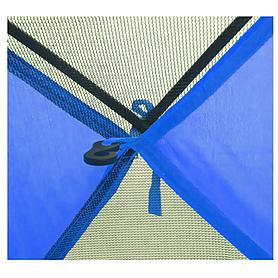 Фото 5 к товару Палатка трехместная Mountain Outdoor Skyroc (ZLT) 213х197х133 см синий