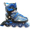Коньки роликовые раздвижные Profi 3021 синие - фото 1