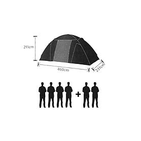 Фото 3 к товару Палатка шестиместная Mountain Outdoor Proterra (ZLT) 460х231х211 см
