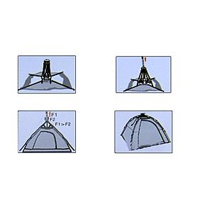 Фото 4 к товару Палатка двухместная Holiday LMT251